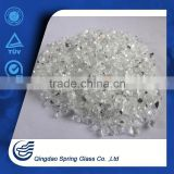 0.1mm-4.0mm Clear Crushed Glass Chip Cheap