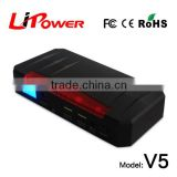 2015 new products mini jump starter power bank rony pocket polymer lithium diesel jump start car battery pack starter