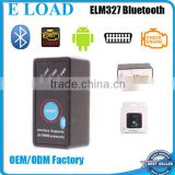 Super Mini ELM327 Bluetooth OBD2 v1.5 OBD ii CAN-BUS Diagnostic Car Scanner Tool+Switch Works on Android Symbian Windows