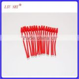 red electric wire accessories with banana plug
