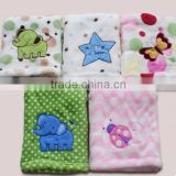 Baby Blanket Animal Pattern / Plush Printing Fleece Blanket / Plush Baby Blanket