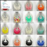 Noble Bohemia Multi Layered Bubble Necklace Bib Choker Statement Candy Color Necklace