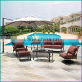 Cast aluminum outdoor furniture garden set CA-629TC                                                                         Quality Choice