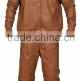 Leather Jogging Suit , Sheep Leather Suits , leather Suits , Track Suits In Leather , Supplier Of Leather Track Suit