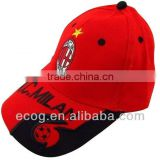Customized 2016 soccer fans baseball cap hard hat