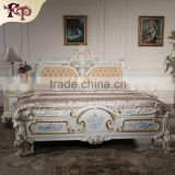 luxury italian beds bedroom furniture - solid wood princess bed                                                                         Quality Choice