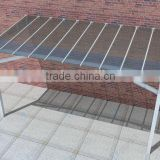 New design Easy DIY design double Polycarbonate sheet door patio canopy awning for carport