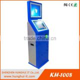 self service kiosk with print ticket and bill payment