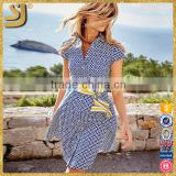 Beautiful fashion apparel women belt short sleeve t-shirt dresses                                                                         Quality Choice                                                     Most Popular