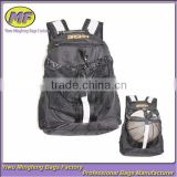 China Supplier High Quality Basket Ball School Bags Customized Oxford Backpack With Ball Pocket BB002