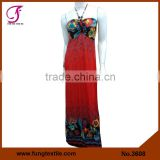 3608 Long Style Micoro Fiber Fashion Latest Dress