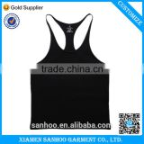 Plain Gym Tank Top Fitness Men Blank Bodybuilding Stringer Singlets Gym Sleeveless Sport Suit T-shirt Cotton Custom Logo