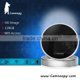 Camnoopy indoor 1.0MP CMOS mini cube PIR detector wifi wireless 10m night vision p2p ip camera temperature&humidity sensor