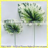 Artificial Foliage for Decoration Green Artificial Begonia Leaf