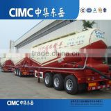 CIMC compressor and diesel engine 55CBM Bulk Cement Silo Tanker Trailer