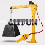 Electric Hoist Winch Crane 360 Degree 12V Engine Lifter Car Truck Lift