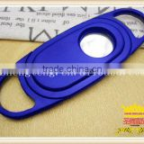 Single sliding opening ABS plastic cigar scissors Color wood double cigar cutter, double shear cigar cutter,cigar scissors