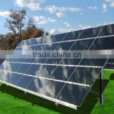 Transparent solar building tempered glass design for solar panel in Africa Market