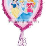 Princess Pull Pinata -Cinderella Snow white Sleeping Beauty