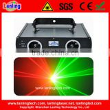 Double head Red Green laser night club lighting