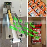 commercial cookies arranging machine/packaged bread tidy machine/bagged biscuit tidying machine