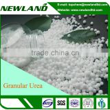 Slow release China prilled big particle urea n46