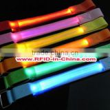 Flashing LED Wristbands RFID Admission Bands RFID Tag With High Performance