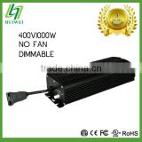 Hydroponic Lighting Fixture Ballast For Plant Lighting 400V/1000W NO FAN electronic ballast