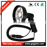 Portable outdoor searching 3000 Lumens LED Marine Handheld 12V Spotlight 27W LED Hunting Spotlight