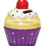 Cupcake Money Bank,Promotional cupcake money bank,2015 China Custom Made Cupcake Money Bank