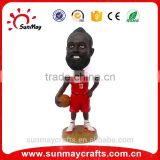 Wholesale custom polyresin basketball figurine for sale