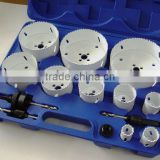14 pcs Bi-metal hole saw kit