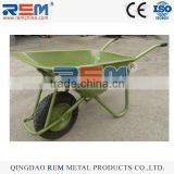 one-wheel garden wheel barrow wb6404H metal tray load 200kg