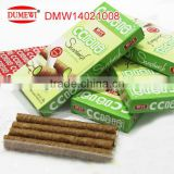 matcha flavored biscuit rolls box pack mini wafer sticks