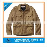 Vintage Denim Jacket, Casual Jacket with Customize Color