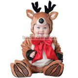 Reindeer Costume Baby Christmas Outfit Rudolph Fancy 2016