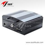 4-channel Mobile DVR, Mobile Car DVR 3G, HDD Vehicle DVR With Optional GPS 3G Wifi Functions