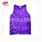 Gym vest 3d printing custom sublimated dri fit tank top women