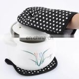 Alibaba wholesale high quality Cotton Kitchen Oven Gloves with Oven mat