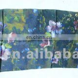 digital printed customer silk scarf