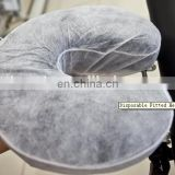 Disposable fitted headrest cover for SPA