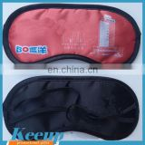 Top quality made in China customized logo travel sleeping cover eye mask