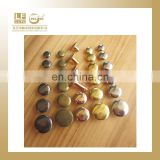 6,7,8,9,10,12MM copper round head rivets for belt,have steel also