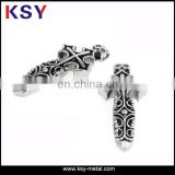 2014 High quality stainless steel custom metal charms