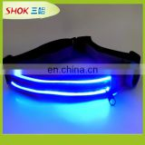 Wholesale sport product LED safety belt for running