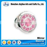 fashional cheap price promotional make up pocket small size mirror wholesale