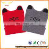 Novelty design acrylic knitted beanie from China supplier