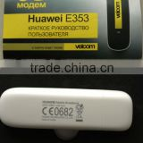 Unlocked Huawei E353 21Mbps HSPA+ modem auto connect
