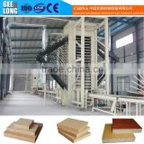 80000CBM chipboard making machine with stainless steel inner roller glue blender machine