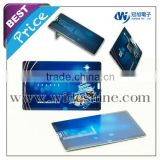 slim credit card usb business card new idea fancy shape 32gb usb flash drive promotional gift for free samples